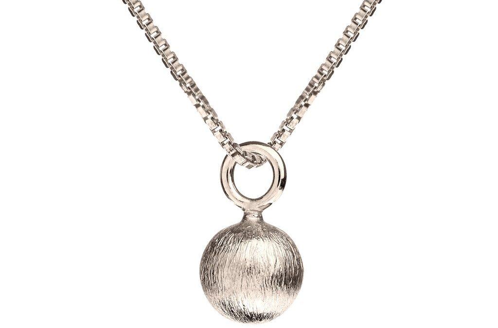 Scherning – Glow halskæde sølv