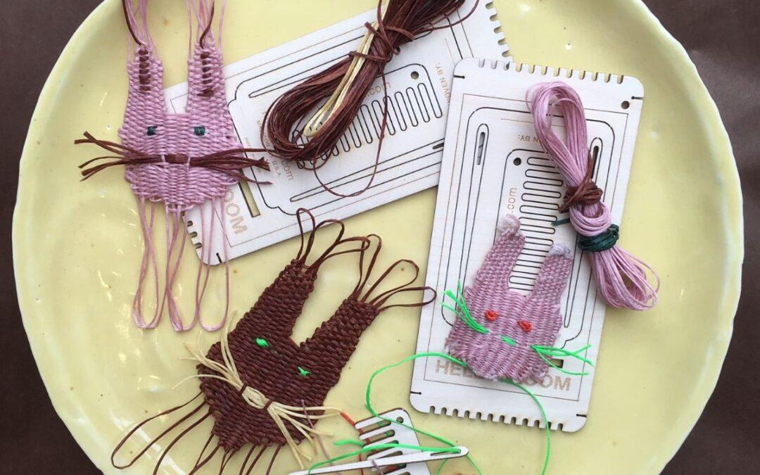 Påskenyheder og tekstilsalon